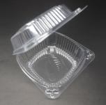 J038 正方形透明塑料盒 12 oz. - 240/箱