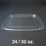 Dart 长方形透明塑料盒盖 C24DE/C32DE - 504/箱