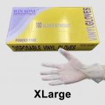 WinSone 加大号一次性透明Vinyl手套 - 1000/箱