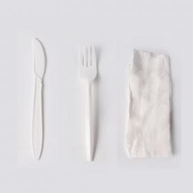 餐具三件套 纸巾, 刀, 叉 - 450/箱