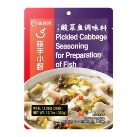 海底捞 上汤酸菜鱼调味料 360克/包 - 24包/箱