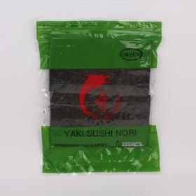 寿司海苔 半切 绿 100张/包 - 80包/箱