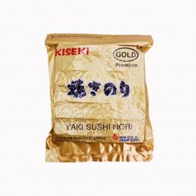寿司海苔 半切 Kiseki 金 100张/包 - 80包/箱