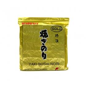寿司海苔 半切 珍选金 100张/包 - 80包/箱