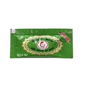 酱油包 (低盐) 5.5毫升/包 - 500包/箱