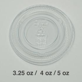 塑料透明调料杯盖 3.25-5oz. - 2000/箱