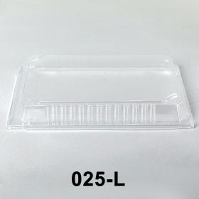 "025-L 长方形透明塑料寿司盘盖 10 1/4"" X 7 3/8"" X 1 3/8"" - 504个/箱"