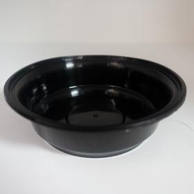 AHD 圆形黑色塑料餐盒套装 16 oz. (718) - 150套/箱