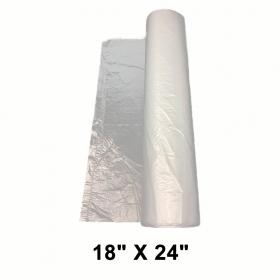 """高级透明塑料保鲜袋18"""" X 24"""" - 4/箱"""