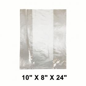 """LDPE 加厚透明保鲜袋 10"""" X 8"""" X 24"""" - 600/箱"""