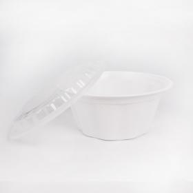 HT 36 oz. 圆形白色塑料碗套装 - 150套/箱