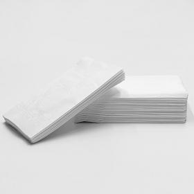 "HW 16"" X 14"" 白色双层堂吃纸巾 - 2000/箱"