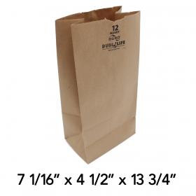 Duro Husky 12磅 加厚牛皮纸袋 - 400/箱