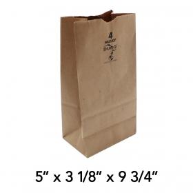 Duro Husky 4磅 加厚牛皮纸袋 - 400/箱
