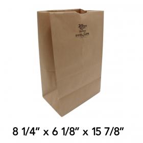 Duro Husky Shorty 25磅 加厚牛皮纸袋 - 400/箱