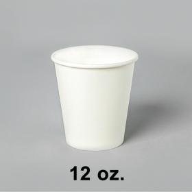 白色咖啡纸杯 12 oz. - 1000/箱