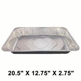 """WS Full Size 20.5"""" X 12.75"""" X 2.75"""" 长方形深型锡纸盘 (非套装) - 40/箱"""