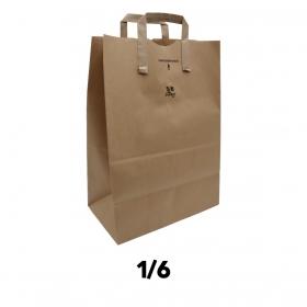Duro 带提手纸袋 1/6 - 300/箱