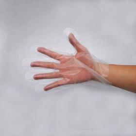 Premium Clear TPE Glove Medium, 100pcs*60bag - 6000/Case