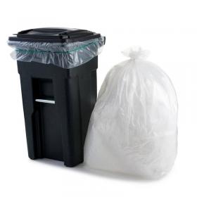 """透明塑料垃圾袋 23"""" X 46"""" #46 - 30/箱"""