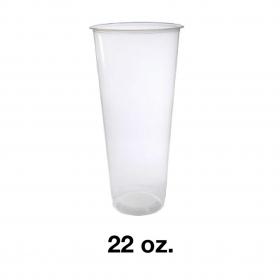 90 PP 透明冷饮硬杯 22 oz. - 500件/箱