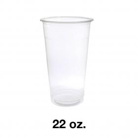 95 PP Clear Cold Cup (Soft) 22 oz. - 1000 Pcs/Case