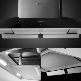 方太 EMG9030 36寸家用智能升降欧式油烟机,1100CFM 可自动调节风量,独立清洁模式,触屏式开关