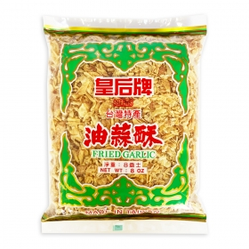 Queen's Fried Garlic 8 oz./Bag - 50 Bags/Case