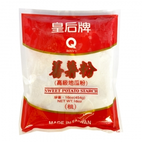 Queen's Potato Starch (Thick) 16 oz./Bag - 30 Bags/Case
