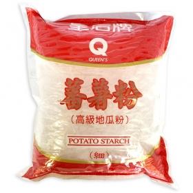 Queen's Potato Starch (Thin) 16 oz./Bag - 30 Bags/Case