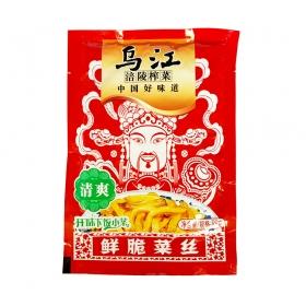乌江涪陵 清爽鲜脆菜丝 88克/包 - 100包/箱