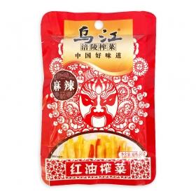 乌江涪陵 麻辣红油榨菜 80克/包 - 100包/箱