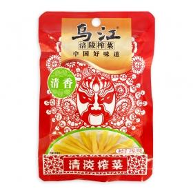 乌江涪陵 清香清淡榨菜 80克/包 - 100包/箱