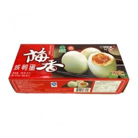 梅香 熟咸鸭蛋 8只装 480克/盒 - 16盒/箱