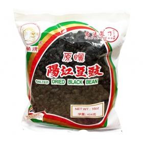 Golden Lion Dried Black Bean 16 oz./Bag - 50 Bags/Case