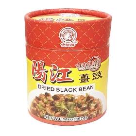 Golden Lion Dried Black Bean (Ginger) 14 oz./Bag - 30 Bags/Case