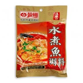盈棚 水煮鱼调料 180克/袋 - 40袋/箱