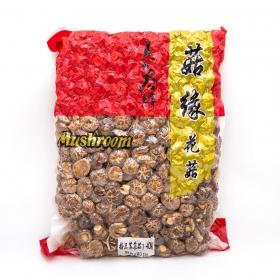 精品茶花菇 3-4 cm 5 lbs/包 - 6 包/箱