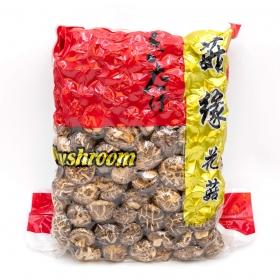 精品茶花菇 4-5 cm 5 lbs/包 - 6 包/箱