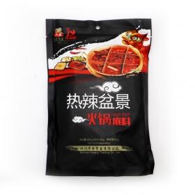 六婆热辣盆景火锅底料 580克/袋 - 20袋/箱
