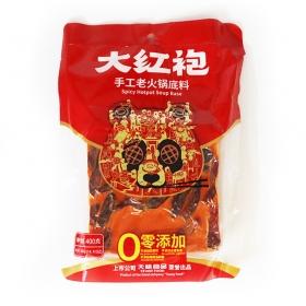 大红袍手工老火锅底料 400克/袋 - 20袋/箱