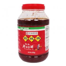 鹃城牌 红油郫县豆瓣酱 4 kg/桶 - 4桶/箱