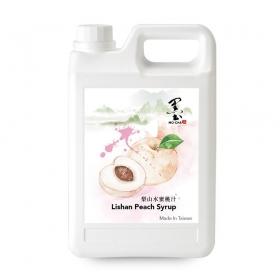 梨山水蜜桃汁 5.5磅/桶 - 4桶/箱