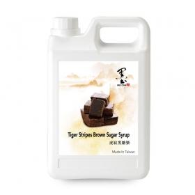 虎纹黑糖浆 5.5磅/桶 - 4桶/箱