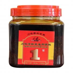川霸王 川味凉拌菜调料 一号 38.8 oz./桶 - 4桶/箱