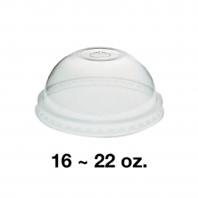 95 PET Dome Lid for 16-22 oz. Cold Cup - 1000/Case